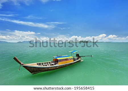 local boat in thailand
