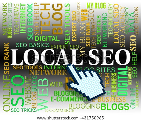 Local Seo Representing Search Engine And Www