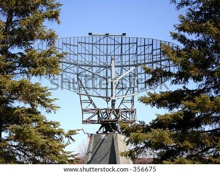 Locator Radar - stock photo
