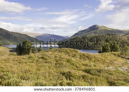 Loch Clair, Torridon, Scotland - stock photo