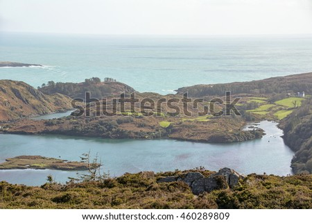 Loch Hyne marine nature reserve, Wild Atlantic Way,County Cork, Ireland