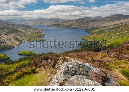 Loch Katrine - stock photo