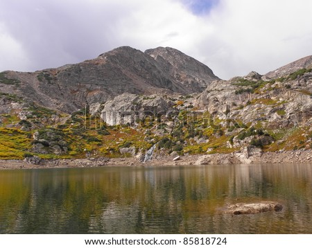 loch lommond in colorado - stock photo