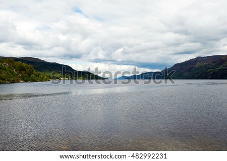 Loch Ness and Port Arthur in the highlands, scotland