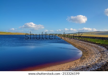 Loch Thom, Inverclyde, Scotland - stock photo