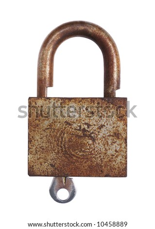 lock with a key