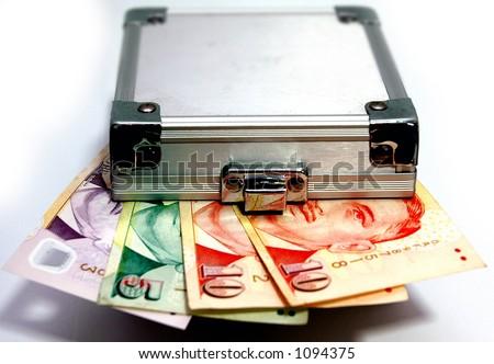 Lockup your Singapore Dollar. Fixed Deposit. - stock photo
