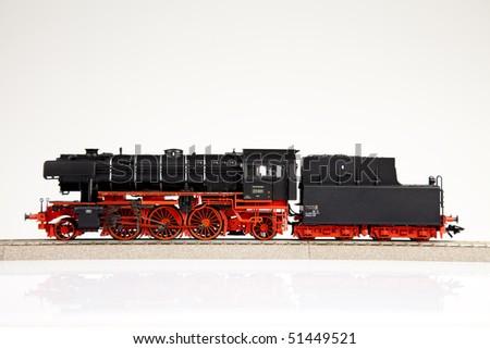 Locomotive Closeup - stock photo