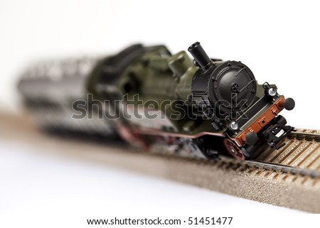 Locomotive Concept - stock photo