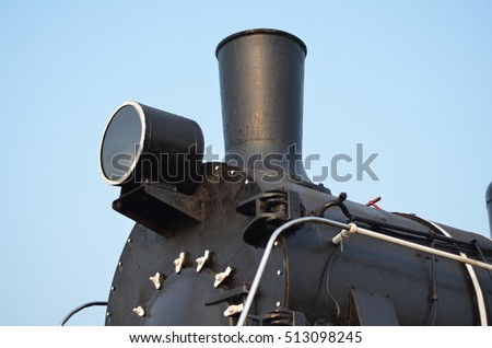 locomotive pipe steam-powered