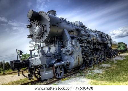 Locomotive train - stock photo