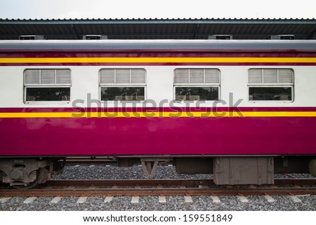 Locomotives. - stock photo