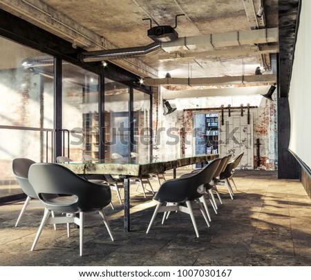 loft office design. Loft Meeting Workplace. Design. Modern Office. Offic Workspace. Office Interior Design S