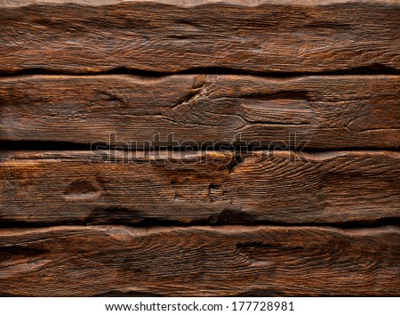 Log background with wood texture - stock photo