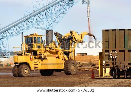 Log mover - stock photo