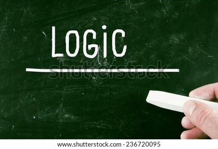 logic concept - stock photo