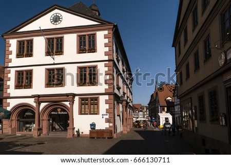 Heimbach Lohr Am Main Of Spessart Stock Images Royalty Free Images Vectors