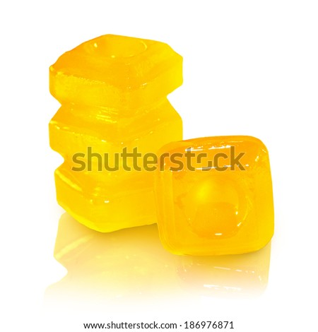 Lollipop cough - stock photo
