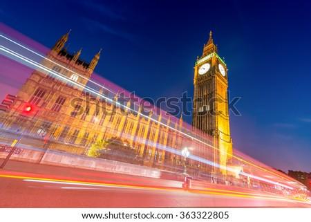 London architecture, United Kingdom. - stock photo