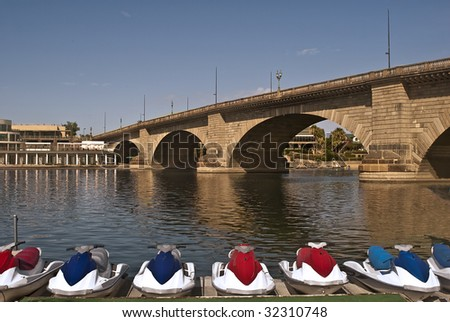 London Bridge at Lake Havasu City, Arizona -