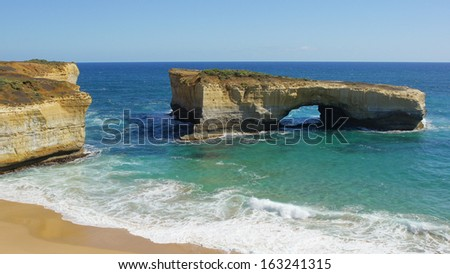 London Bridge, Port Campbell National Park, Great Ocean Road, Victoria, Australia
