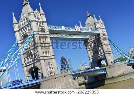London Bridge Tower - stock photo