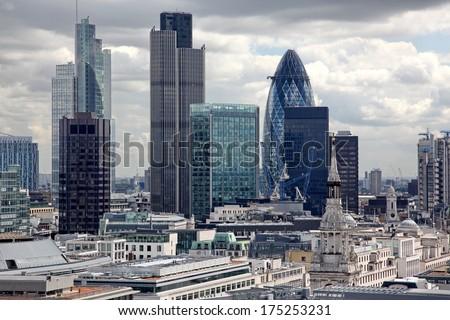London city, UK - stock photo