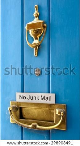 London doors - stock photo