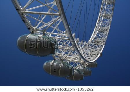 London Eye (2) - stock photo