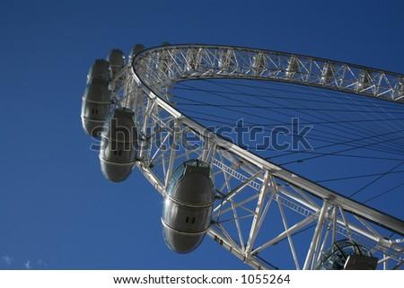 London Eye (3) - stock photo