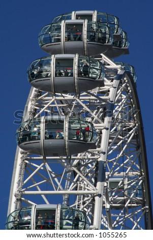London Eye (4) - stock photo