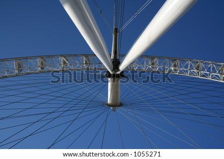London Eye (5) - stock photo