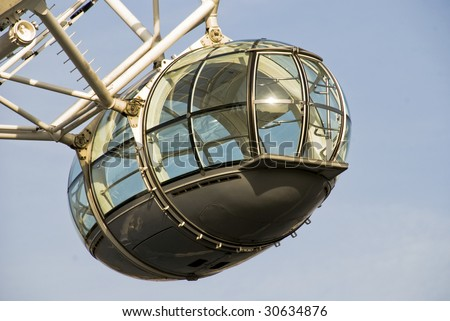 London Eye Pod - stock photo