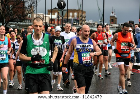 London Marathon Finish Stock Images, Royalty-Free Images & Vectors ...