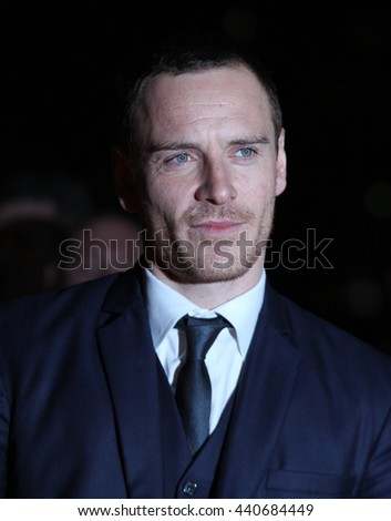 LONDON - JAN 19, 2012: Michael Fassbender arrives for the London Film Critics Circle Awards held at the BFI on Jan 19, 2012 in London