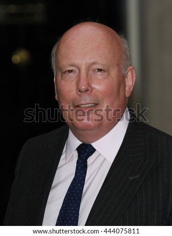 LONDON - JUN 30, 2014: Julian Fellowes attends the Best of Britain's Creative Industries reception at 10 Downing street on Jun 30, 2014 in London