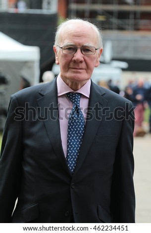 LONDON - JUN 27, 2016: Menzies Campbell seen at College Green,  Westminster on Jun 27, 2016 in London