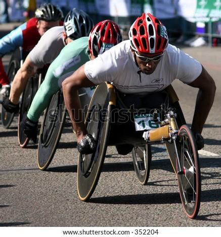 london marathon - stock photo