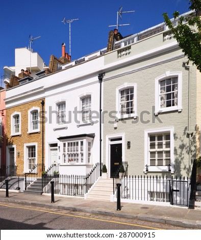 London town house stock images royalty free images for English terrace