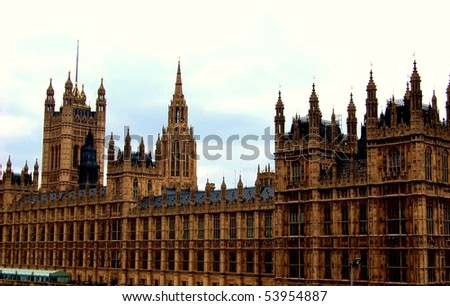 London Parliament - stock photo