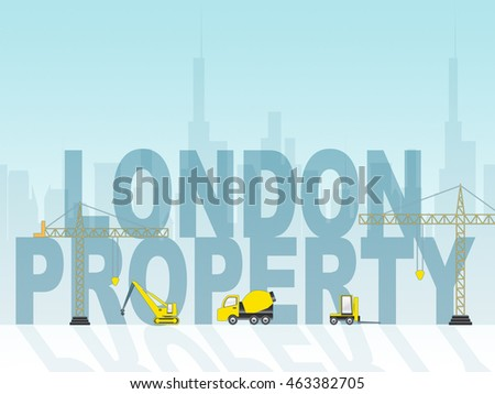London Property Showing Real Estate And House
