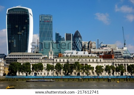 London Riverside - stock photo