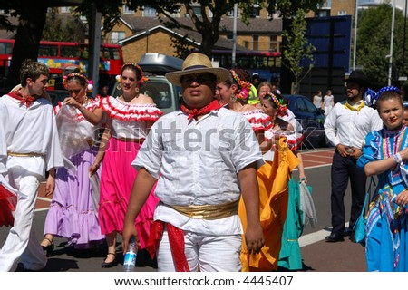 London's annual celebration of Latin Culture, Carnival Del Pueblo