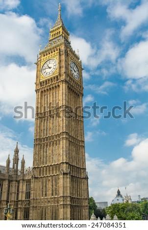 London. The Big Ben. - stock photo