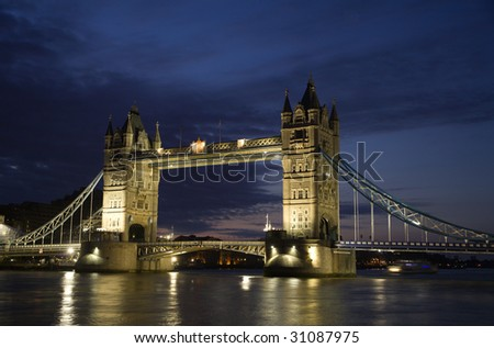 London - Tower bridge by daylight