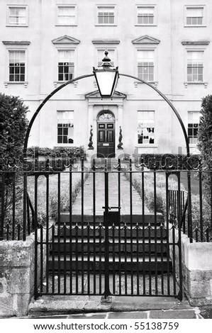 London Town House - stock photo