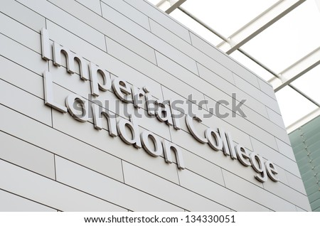 LONDON, UK - APR 7: Imperial College London on April 7, 2013 in London, UK. It is ranked 3rd in Europe and 8th in the world according to The Times Higher Education World University Rankings 2012-13. - stock photo