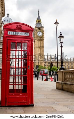 London, UK, July 20, Big Ben, July 20.2014 in London - stock photo