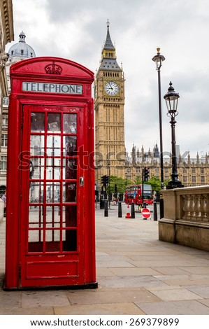 London, UK-July 21, Big Ben, July 21.2014 in London - stock photo