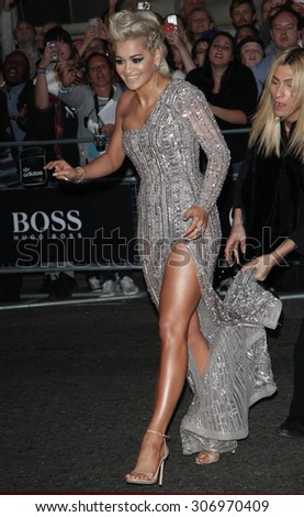 London, UK, 2nd September 2014: Rita Ora attends the GQ Men of the Year awards at The Royal Opera House in London, UK.